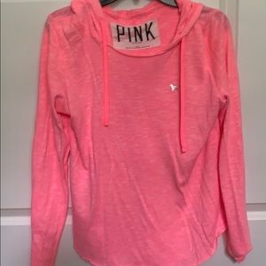 PINK light hoodie